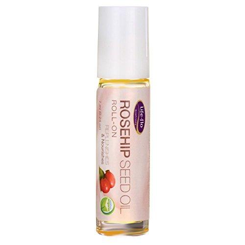 Rosehip Seed Oil Roll-on Fragrance Free Life Flo Health Prod