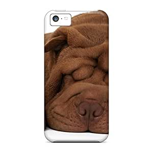 Quality E-Lineage Case Cover With Shar Pei Puppy Nice Appearance Compatible With Iphone 5c