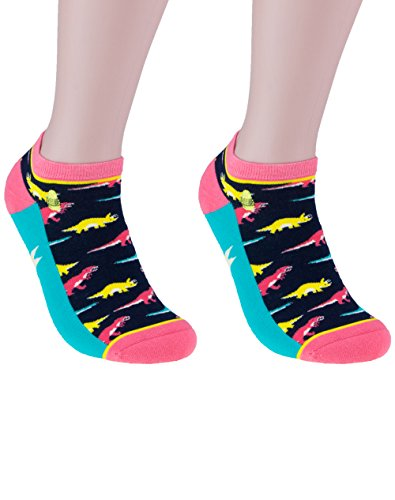 Woven Pear, Women Ankle-o-Saurus (Anklet) Socks, One Size ()