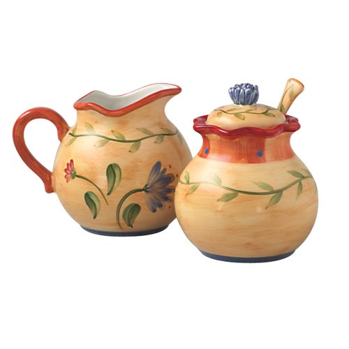 (Pfaltzgraff Napoli Sugar and Creamer Set)
