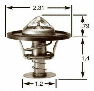 Stant 14119 Thermostat 195 Degrees Fahrenheit