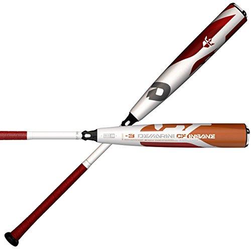 "DeMarini 2018 CF Insane Enloaded BBCOR Baseball Bat, 33""/30 oz -  WTDXCIC 3033-18"