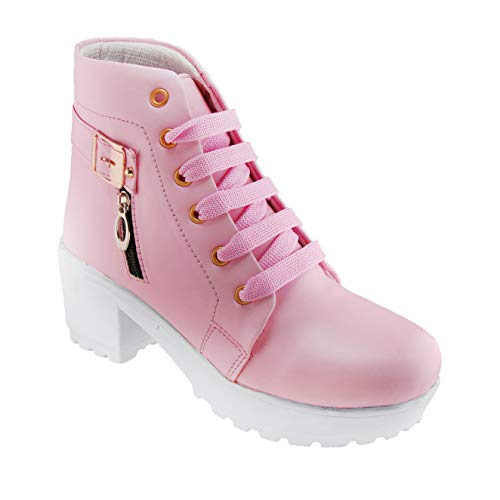 DICY Boots Shoe Jeans for Girls High Heel (Ankle) Stylish Ideal for Both Women & Girls| Wear These as Casual or Even for…