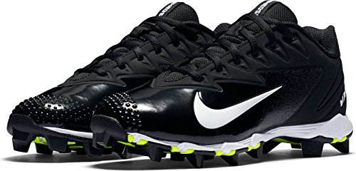 Nike Boy's Vapor Ultrafly Keystone Baseball Cleat Black/White/Anthracite Size 2.5 M US