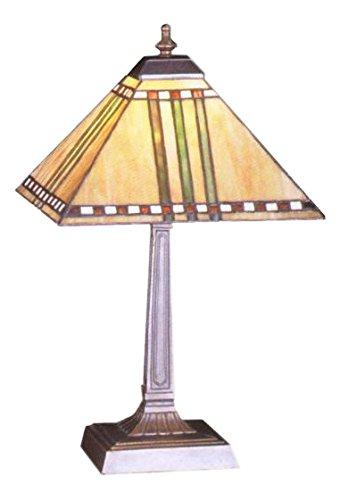 Meyda Tiffany 26509 Prairie Corn Accent Lamp, 16