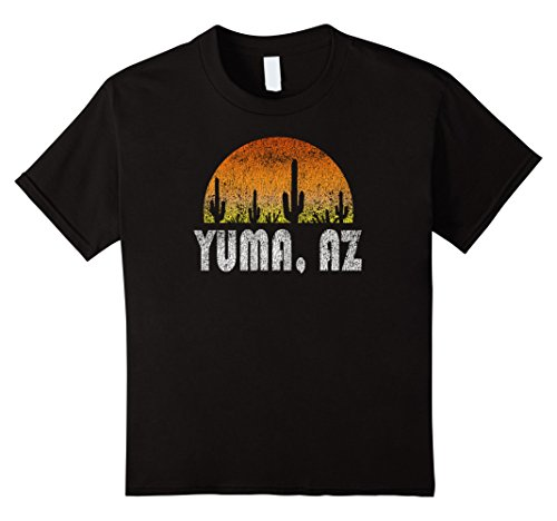 Kids Retro Yuma Arizona Desert Sunset Vintage T-Shirt 10 - Kids Yuma
