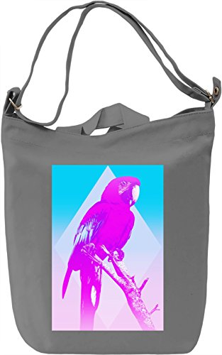 Exotic Parrot Borsa Giornaliera Canvas Canvas Day Bag| 100% Premium Cotton Canvas| DTG Printing|