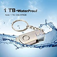 USB Flash Drives 1TB Usb Flash Drives Usb 2.0 Flash Drive Memory Stick Metal Swivel High Speed Thumb U Disk Cute Flash Drives by ppstore99