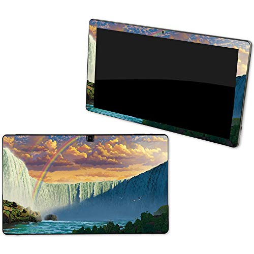 MightySkins Skin Compatible with NuVision Supreme 1001 Tablet - Niagara Falls   Protective, Durable, and Unique Vinyl Decal wrap Cover   Easy to Apply, Remove, and Change Styles   Made in The USA
