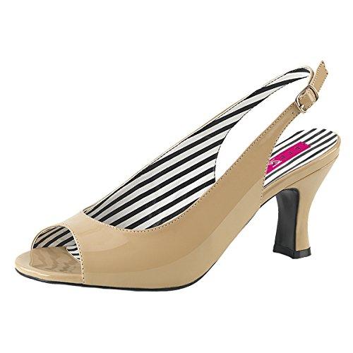Mujer Perfect beige Heels Zapatillas beige UEPU4xw