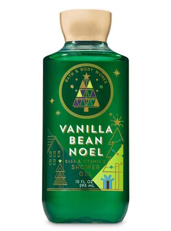 Bath & Body Works Shea & Vitamin E Shower Gel Vanilla Bean Noel