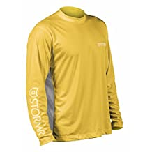 Stormr Outdoor Apparel Shirt Mens L/S T-Shirt Vented 2XL Yellow RW215M