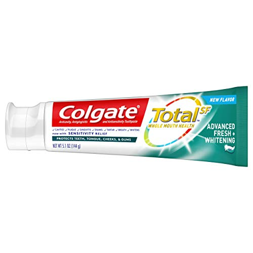 Colgate Total Advanced Fresh + Whitening Gel Toothpaste, 4 Count by Colgate (Image #6)