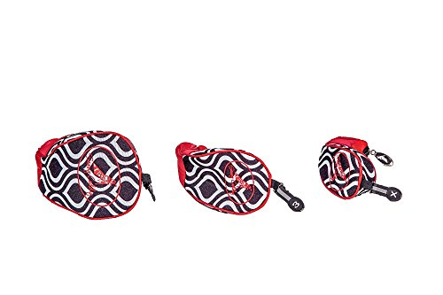Sassy Caddy Women's New Orleans Jazzy Set of Head Cover, Black/Red/White