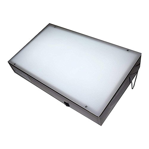 Porta-trace 1 Porta Trace 11118-2L 11X18-inches Stainless Steel Frame Lightbox with LED last up to 50,000 hours