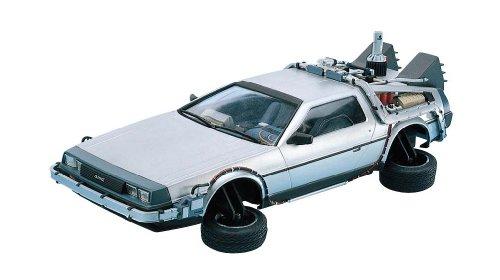 Dragon Models Back to The Future II Delorean Model Kit, Scale 1:24