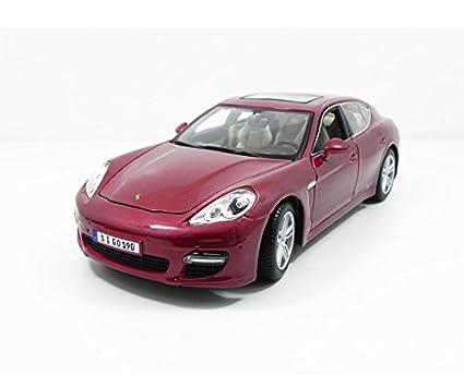 Maisto 36197, Coche Porsche Panamera Turbo (escala 1:18), Rojo