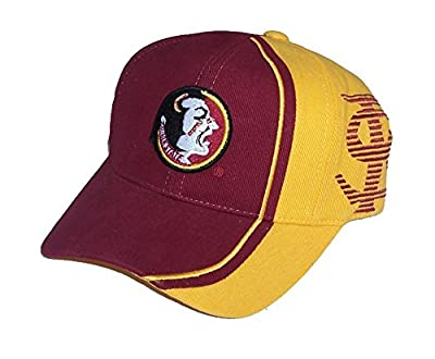 Florida State Seminoles Velcro Adjustable One Size Fits Most NCAA Authentic Hat Cap - OSFM from NCAA Authentic Product