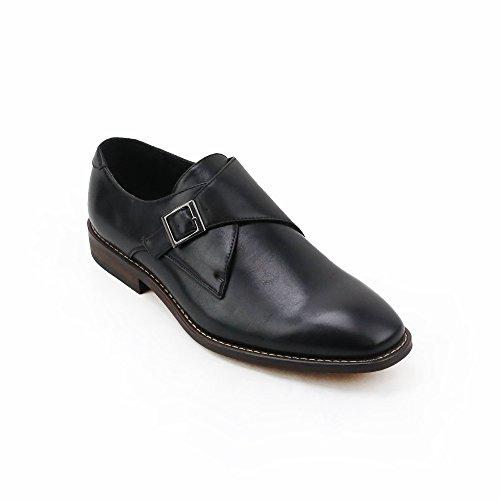 XRAY Mens Solo Monk Strap Shoes Black