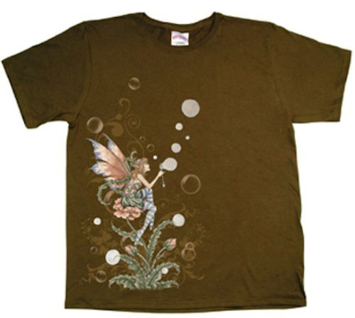Bubble Sprite Amy Brown Fairy T-Shirt Large