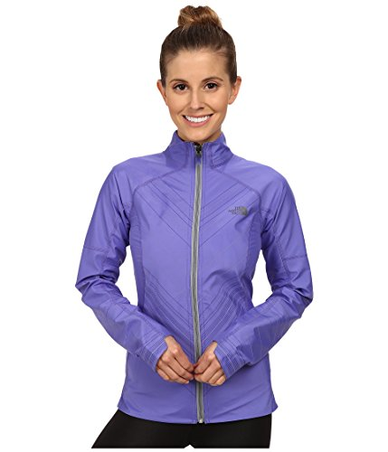 - The North Face Women's Illuminated Reversible Jacket, Starry Purple/Monument Grey Heather SM