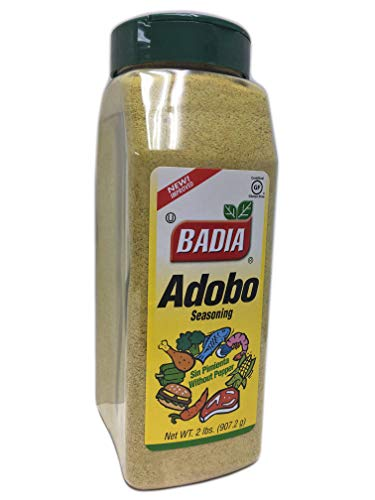 (2 lbs Adobo Seasoning without Pepper/Sazon sin Pimienta Kosher)
