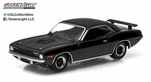 Plymouth Hemi Cuda Body - 1970 Plymouth Hemi Cuda * Black Bandit Collection * Series 11 Greenlight Collectibles 2014 Limited Edition 1:64 Scale Die-Cast Vehicle