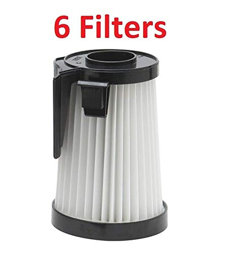 (6) Filter for Eureka DCF2 61805-4 HEPA Filter Whirlwind Cyclonic Victory 4600