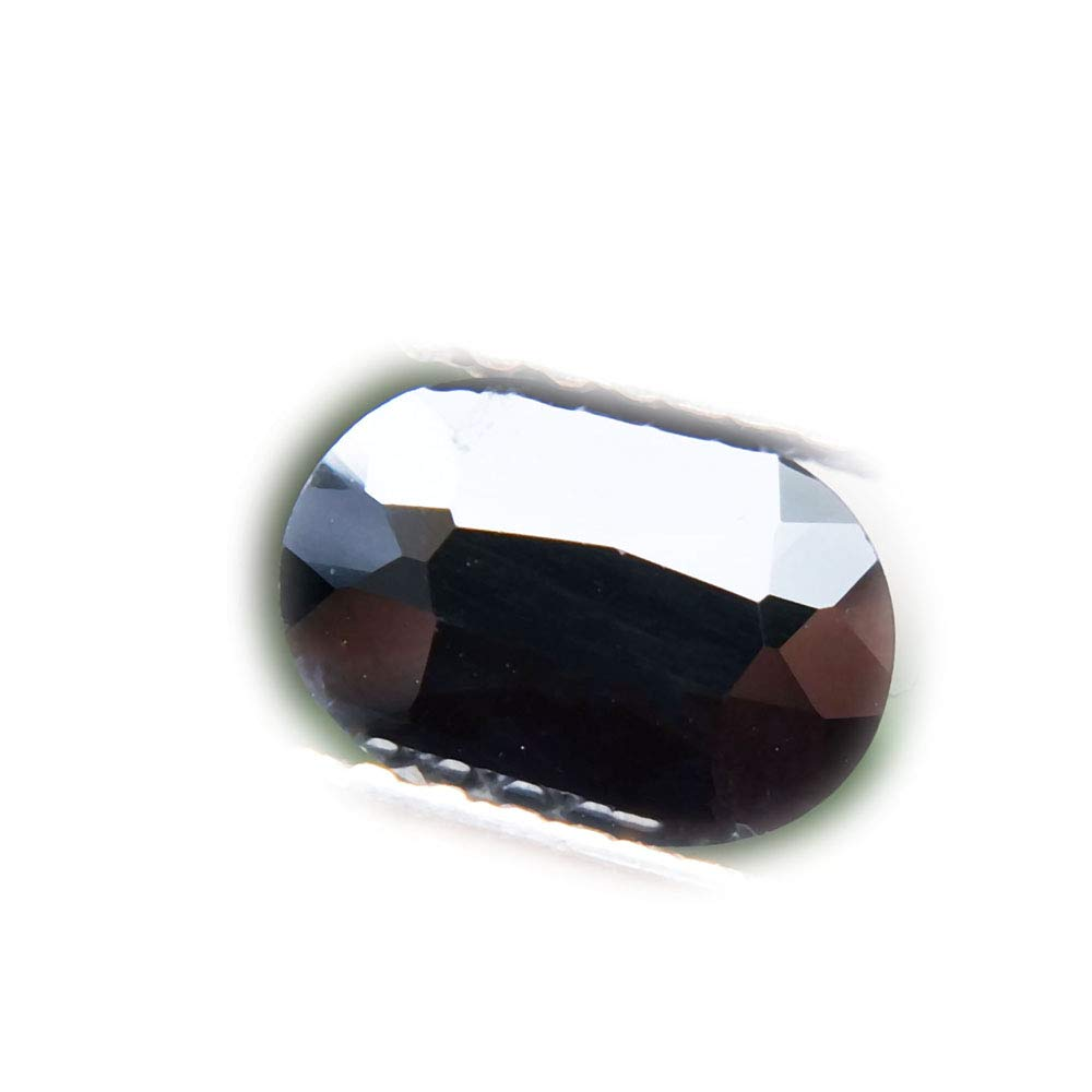 lovemom 0.99ct Natural Oval Normal Heated Black Sapphire Madagascar #PU