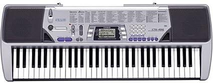 (Modelo antiguo) Casio CTK-496 teclado electrónico con 61 teclas de tamaño completo y capacidad Singalong