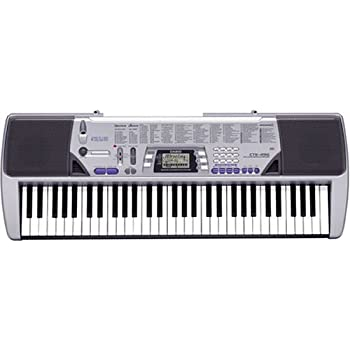 (OLD MODEL) Casio CTK-496 Electronic Keyboard with 61 Full-Size Keys and Singalong Capability