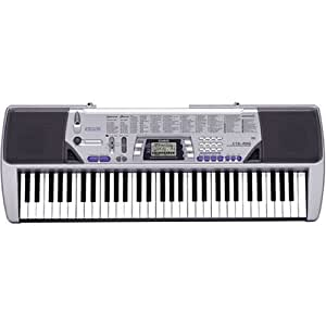 old model casio ctk 496 electronic keyboard with 61 full size keys and singalong. Black Bedroom Furniture Sets. Home Design Ideas