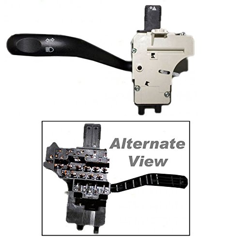 APDTY 56010315AA Multi-Function Combination Turn Signal Lever Switch(Fits 1997-2001 Jeep Cherokee, and 1997-2000 Jeep Wrangler)Fits Models Without Cruise Control,Direct Replacement for Proper Fit Every Time,Replaces Factory OEM Part Number(s)- 56010315AA,56010315AB,56010315AC,C56010315A (Cruise Jeep Control Cherokee)