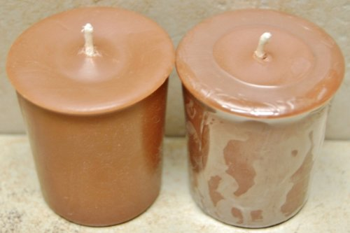 18 Pack 2 oz Scented Soy Votives - Pine (Pinecone Votive)