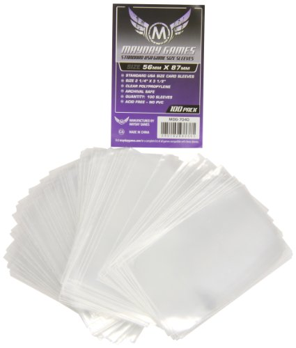Purple Label: Standard USA Game Size Sleeves  56mmx87mm