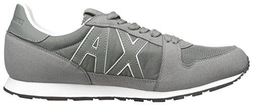 Grey Sneaker Castor Armani Running Men Retro Exchange A X Sneaker Fashion TFwYgYqvx