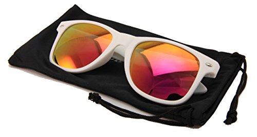 VW Eyewear Horn Rimmed Colorful Sunglasses