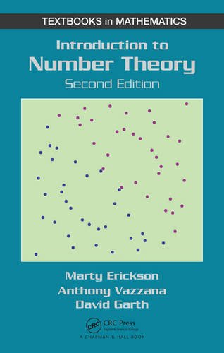 Introduction to Number Theory, 2nd Edition (Textbooks in Mathematics) -  Anthony Vazzana, Hardcover