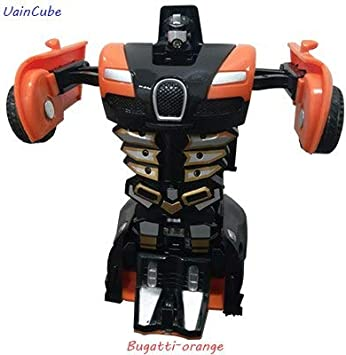 Robot de plástico para Transformar el Coche de Deformation, automático, Modelo Divertido, para niños, Regalos increíbles, Juguete para niños: Amazon.es: Hogar