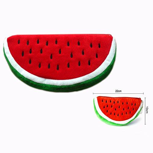 Cisixin Wassermelone Bleistift Tasche für Bleistift Lagerung fJ9Y9W