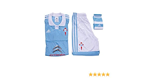 adidas H Conjunto Celta de Vigo FC 2015-2016, Unisex niños