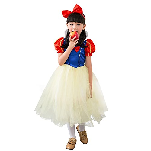 Amur Leopard Kids Halloween Party Costume Dress Little Maid Lolita