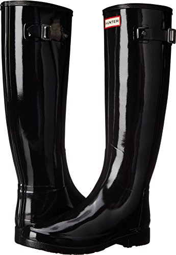 Hunter Women's Original Refined Gloss Black Boot