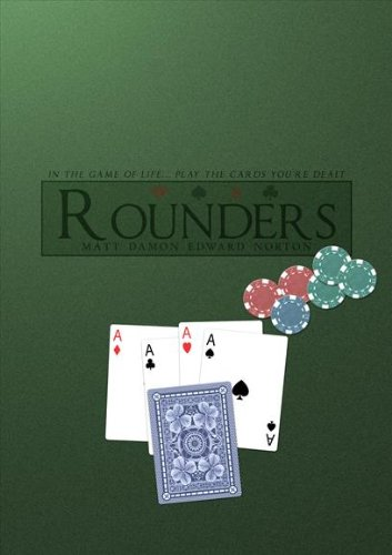 (Rounders Movie Poster (11 x 17 Inches - 28cm x 44cm) (1998) Style E -(Matt Damon)(Edward Norton)(John Turturro)(Gretchen Mol)(Famke Janssen)(John)