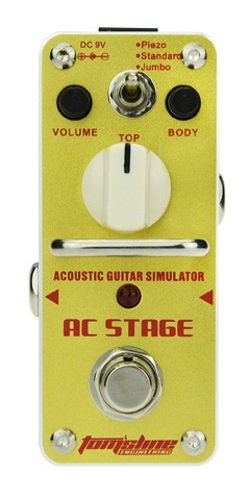 (Tomsline AAS-3 AC Stage, Acoustic Guitar Simulator Pedal)