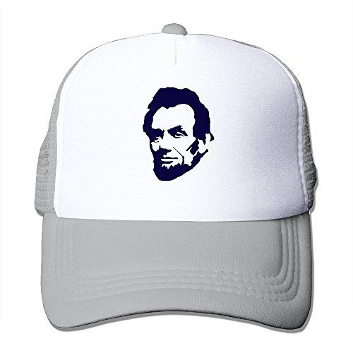 Abraham Lincoln Graphic Print Mesh Sports Trucker Hats
