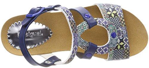 Desigual Women's Shoes_bio9 Mosaic Sling Back Sandals Blue (5043 Moonlight Blue) LFcmzck