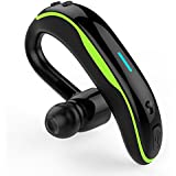 CASEMAKES Sport Wireless Earphone Headset V4.1, Wireless Earpiece with Mic for iPhone/Android Cell Phones,Hands-Free Wireless Earphone (Green)