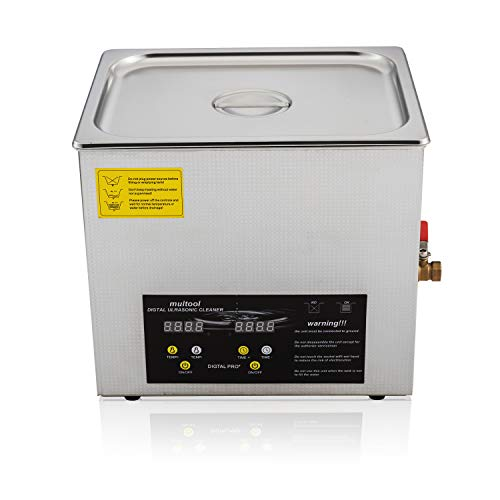 - Ultrasonic Cleaner 15L Digital Ultrasonic Gun Carb Parts Cleaning Machine Stainless Steel