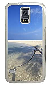 Samsung Galaxy S5 White Sands and water beach PC Custom Samsung Galaxy S5 Case Cover Transparent